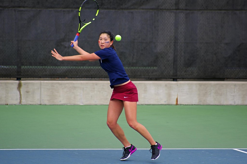 Zhu S Singles Title Highlights Columbia Invitational For Women S