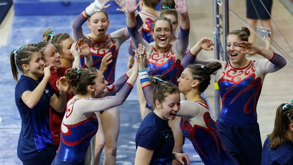 Gymnastics Heads To Penn State For Meet With Nittany Lions Cornell