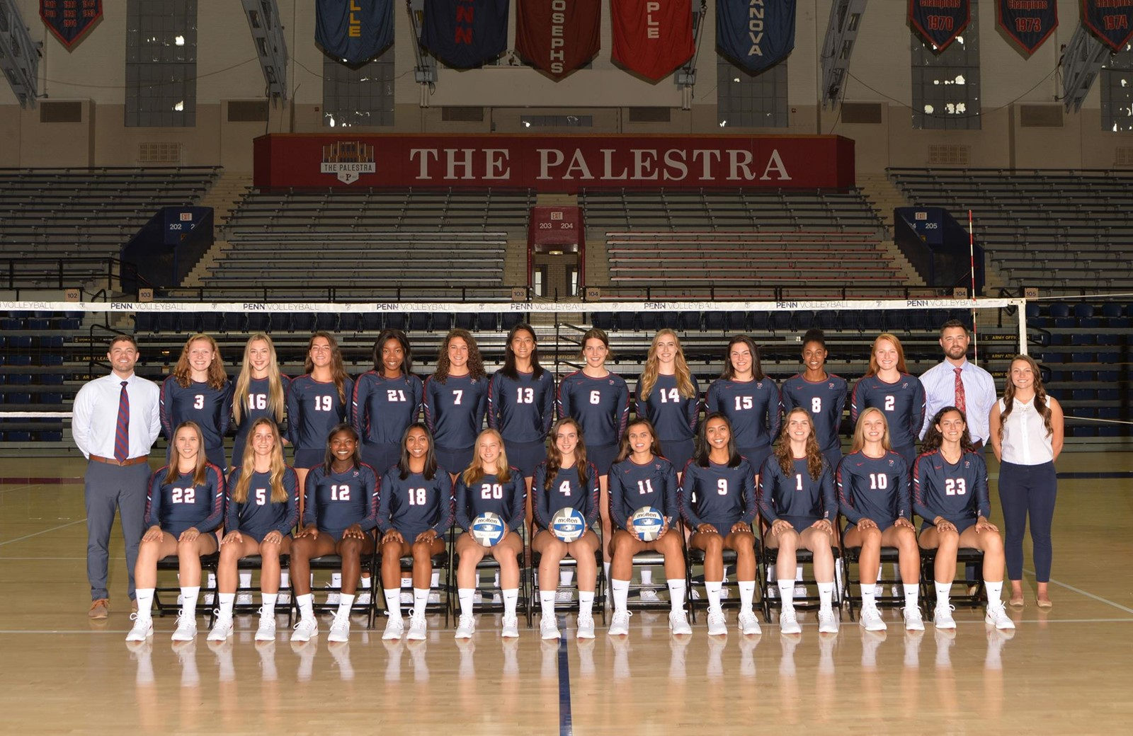 2018 Women S Volleyball Roster University Of Pennsylvania Athletics